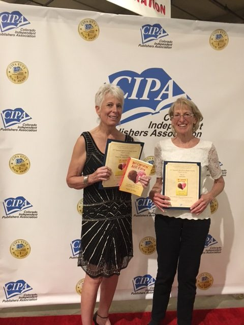 """No Cheatin', Just Eatin' takes the bronze in both writing (Mary Jo) and editing (Barb Munson) in Colorado Independent Publisher's Association competition for 2017."